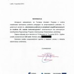 UMWL w Lublinie referencje