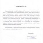List referencyjny - FPCP
