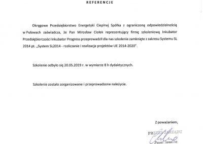 Referencje OPEC Puławy